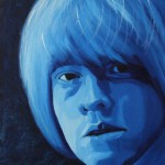 Brian Jones, portrait painting