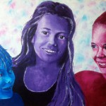 Commissioned portrait painting
