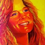 Ilse DeLange, portrait painting