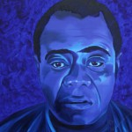 Louis Armstrong, portrait painting