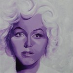 Marilyn Monroe, portrait painting