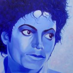 Michael Jackson, portrait painting