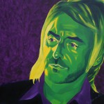 Paul Weller, portrait painting